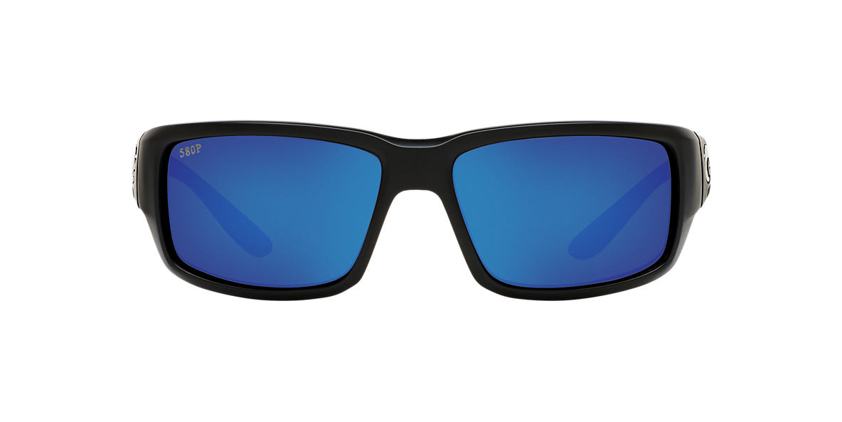 COSTA DEL MAR Black FANTAIL 59 Blue polarized lenses 59mm
