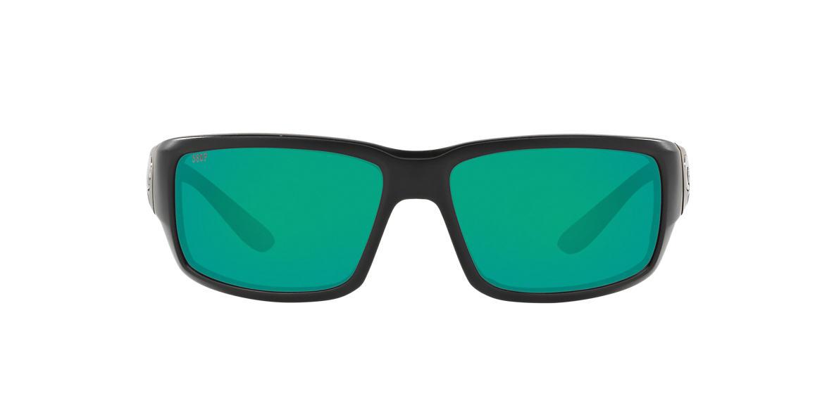 COSTA DEL MAR Black FANTAIL 59 Green polarized lenses 59mm