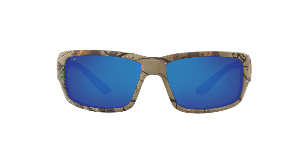 COSTA DEL MAR Brown FANTAIL 59 Blue polarized lenses 59mm