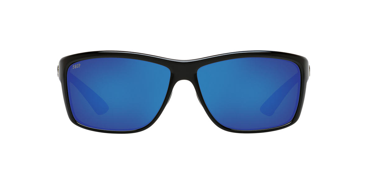 COSTA DEL MAR Black CDM MAG BAY 64 Blue polarized lenses 64mm