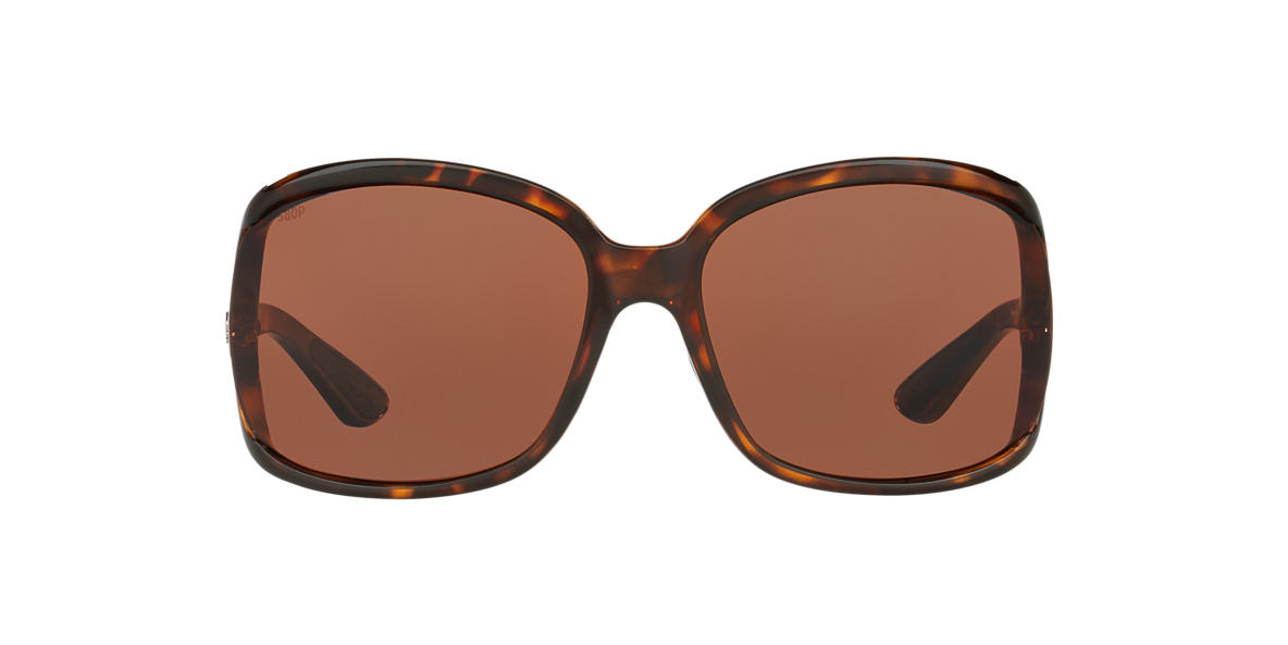 COSTA DEL MAR Tortoise BOGA 61  polarized lenses 61mm