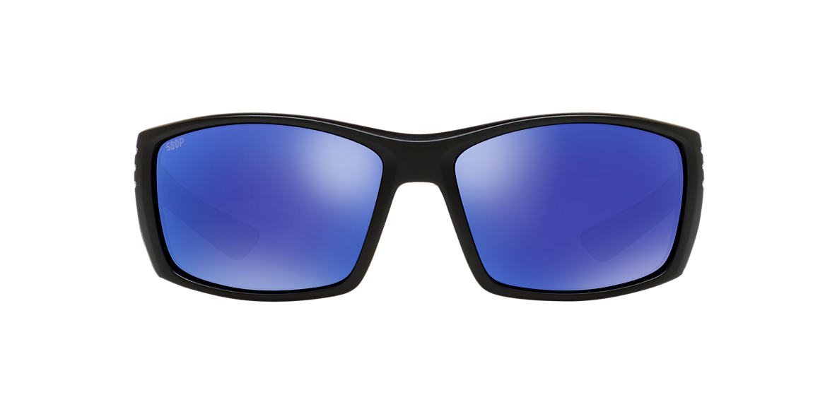 COSTA DEL MAR Black CDM CORTEZ 65 Blue polarized lenses 65mm