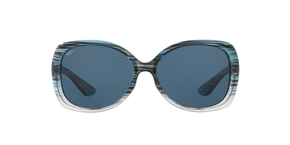 COSTA DEL MAR Blue SEAFAN 58 Grey polarized lenses 58mm
