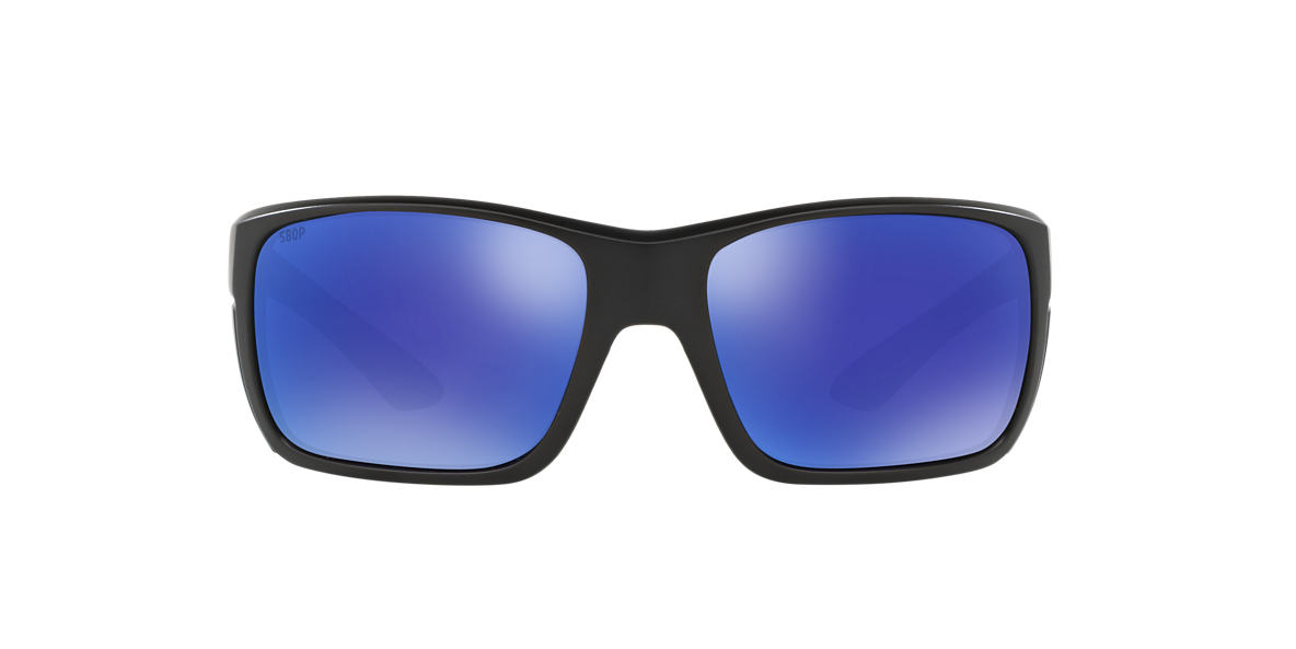 COSTA DEL MAR Black ROOSTER 61 Blue polarized lenses 61mm