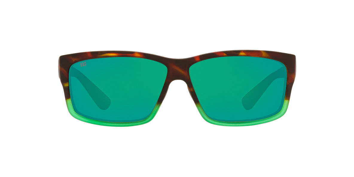 COSTA DEL MAR Multicolor CUT 61 Green polarized lenses 61mm