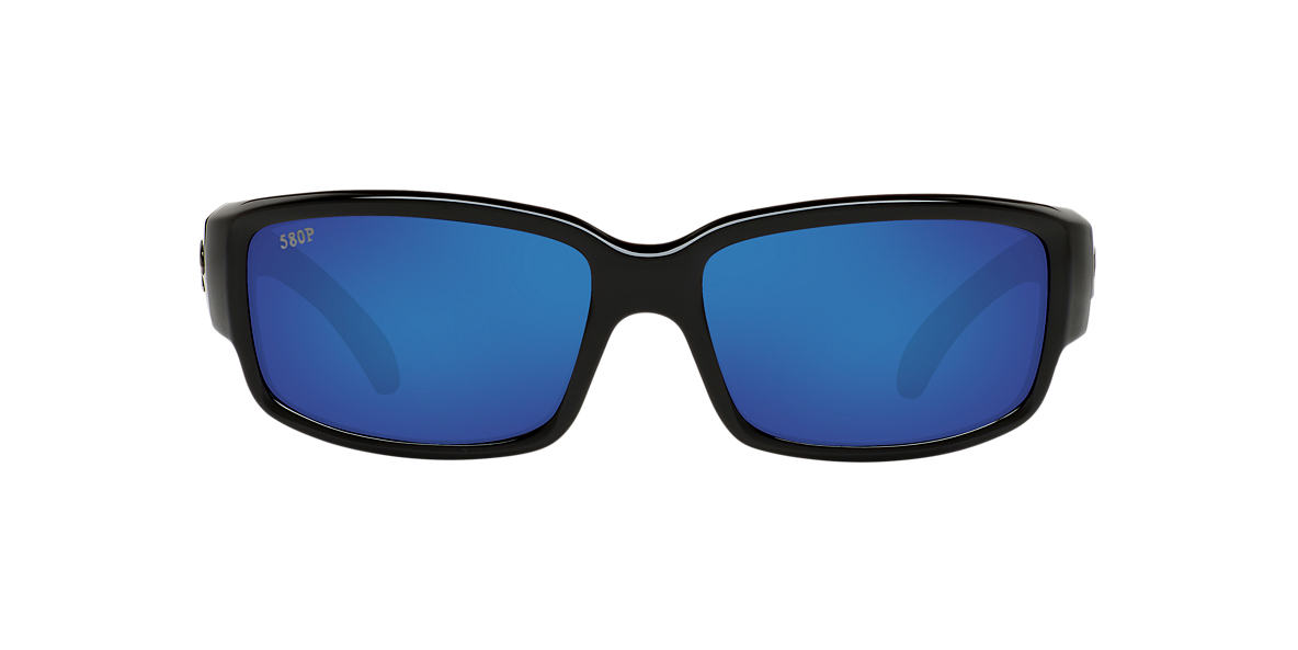 COSTA DEL MAR Black CDM CABALLITO 06S000169 59 Blue polarized lenses 59mm