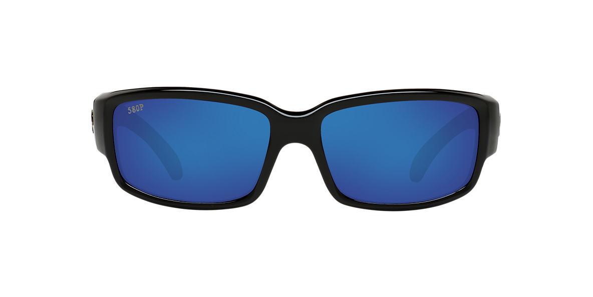 COSTA DEL MAR Black CDM CABALLITO 06S000169 59 Blue polarized lenses 59mm