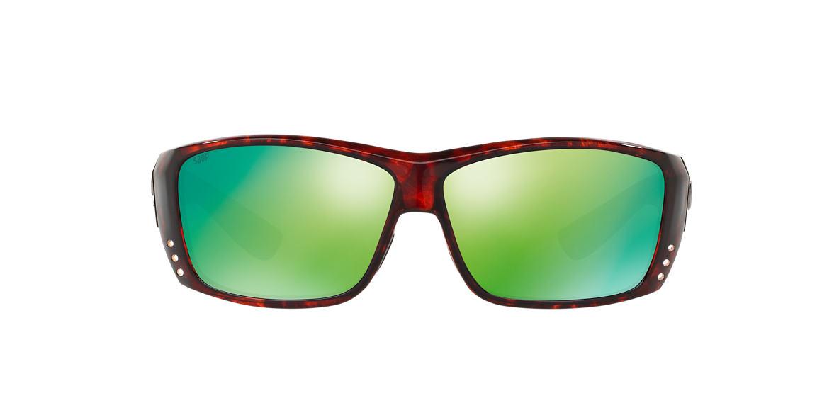 COSTA DEL MAR Tortoise CAT CAY 61 Green polarized lenses 61mm
