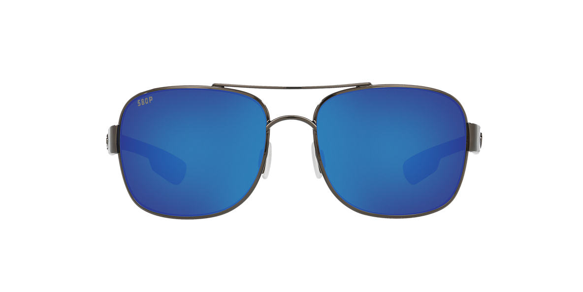 COSTA DEL MAR Gunmetal COCOS POLARIZED 59 Blue polarized lenses 59mm