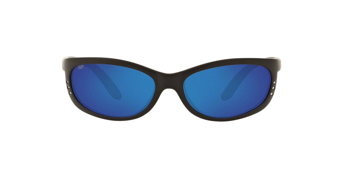 COSTA DEL MAR Black FATHOM 06S000006 61 Blue polarized lenses 61mm