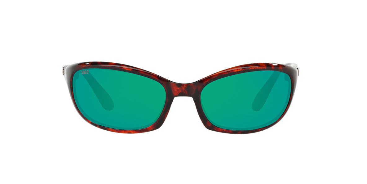 COSTA DEL MAR Tortoise HARPOON 06S000026 62 Green polarized lenses 62mm