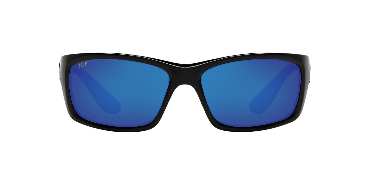 COSTA DEL MAR Black JOSE 61 Blue polarized lenses 61mm