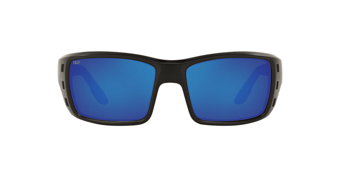 COSTA DEL MAR Black PERMIT 62 Blue polarized lenses 62mm