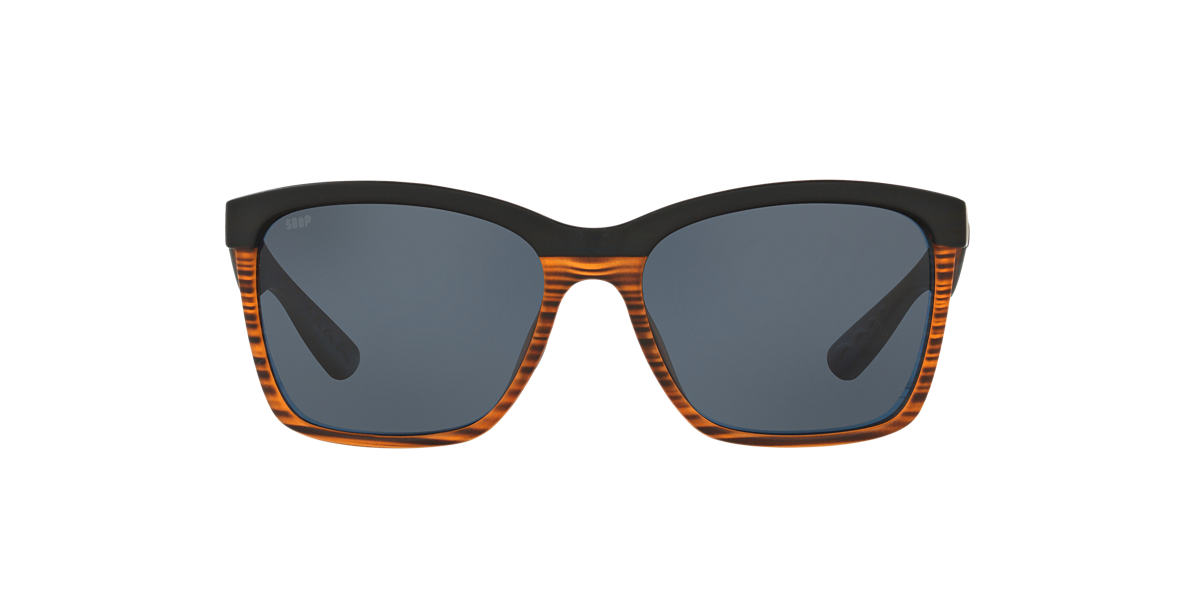 COSTA DEL MAR Brown ANAA 55 Grey polarized lenses 55mm