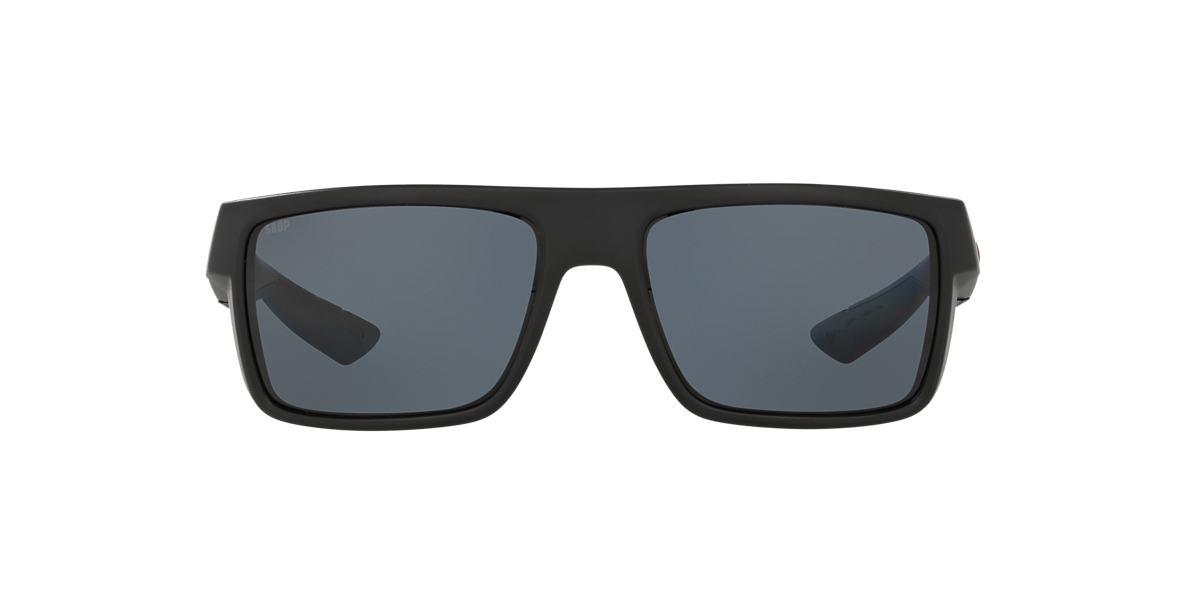COSTA DEL MAR Black MOTU 57 Grey polarized lenses 57mm