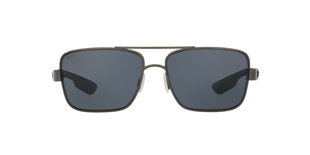 COSTA DEL MAR Gunmetal NORTH TURN 59 Grey polarized lenses 59mm