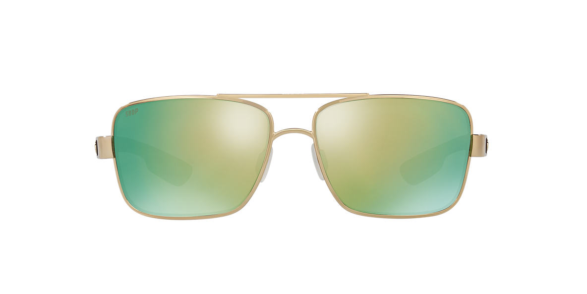 COSTA DEL MAR Rose Gold NORTH TURN 59 Green polarized lenses 59mm