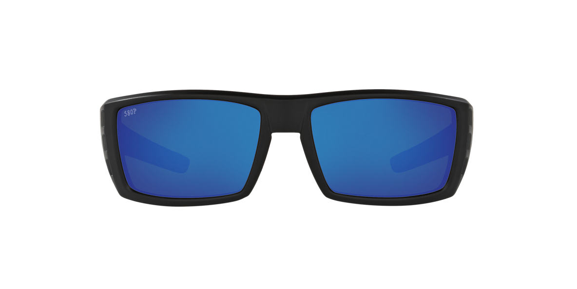 COSTA DEL MAR Black RAFAEL 59 Blue polarized lenses 59mm