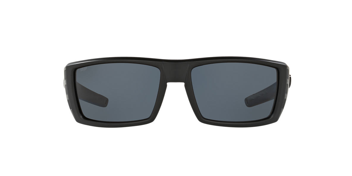 COSTA DEL MAR Black RAFAEL 59 Grey polarized lenses 59mm