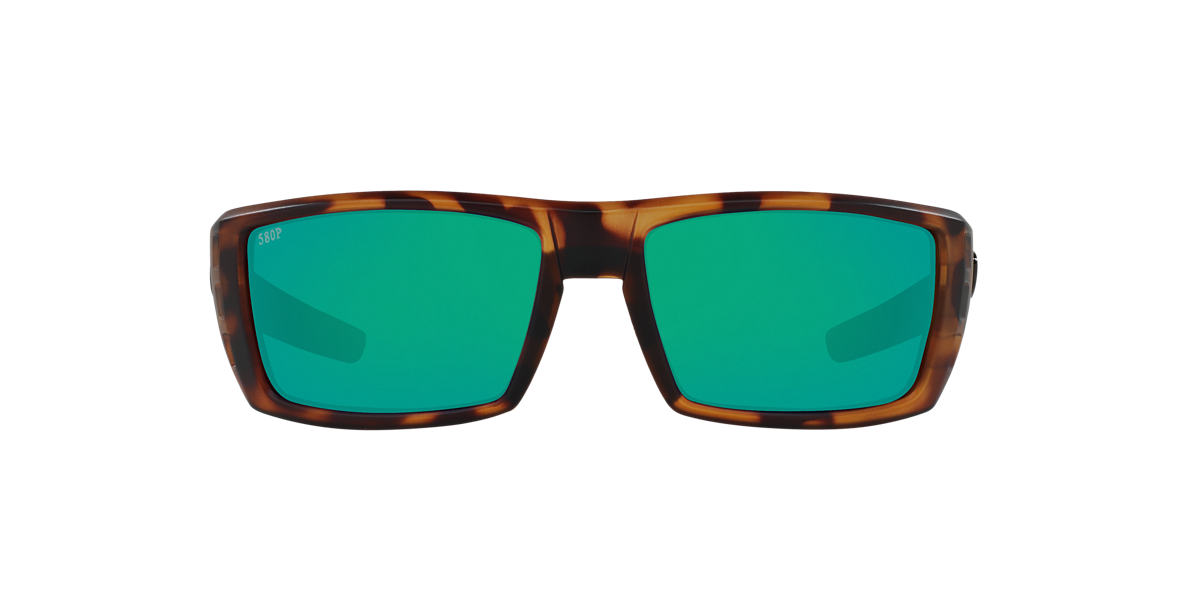 COSTA DEL MAR Tortoise Matte RAFAEL 59 Green polarized lenses 59mm