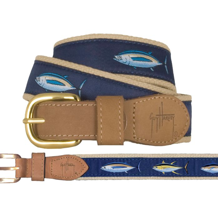 Tuna Trio Leather Belt