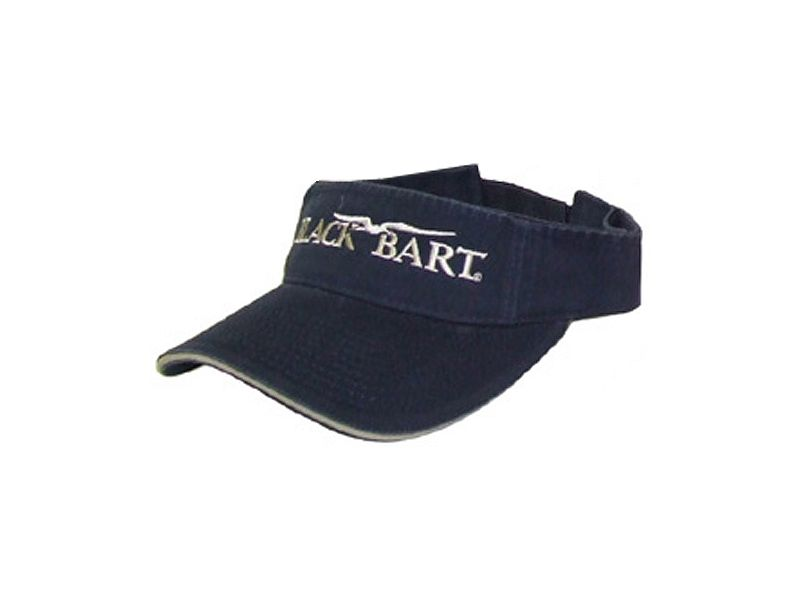 Black Bart Logo Visor
