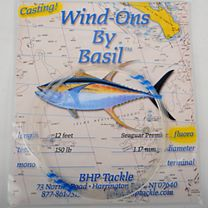 BHP Tackle Casting Wind-On Leaders - Momoi Diamond