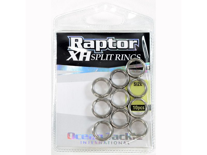 Ocean Tackle International Raptor XH Split Rings