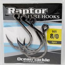 Ocean Tackle International OTI-5106-6 Raptor Lure Hooks