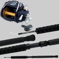 Daiwa Seaborg Megatwin SB1000MT Kite Combo
