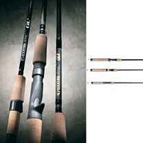 G. Loomis Classic Popping Spinning Rods