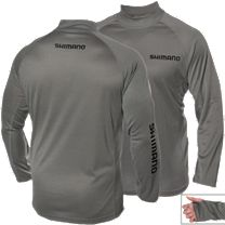 Shimano Navigation Mock Neck Long Sleeve Shirt