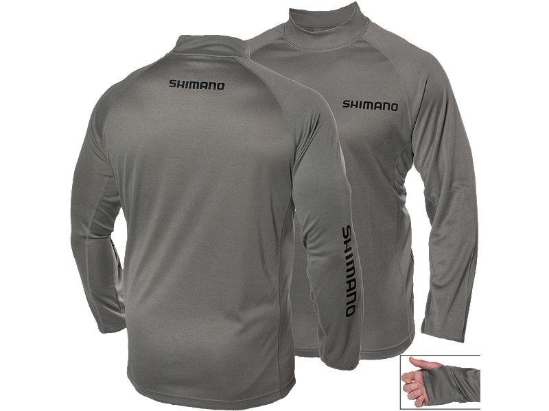 Shimano Navigation Mock Neck Long Sleeve Shirt