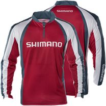 Shimano Technical Sublimated Zipfront Long Sleeve Shirt