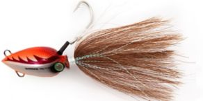Shimano Lucanus Bucktail - Orange White