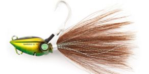 Shimano Lucanus Bucktail - Green Gold