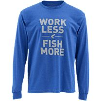 Simms Work Less Fish More Tarpon Long Sleeve Shirt