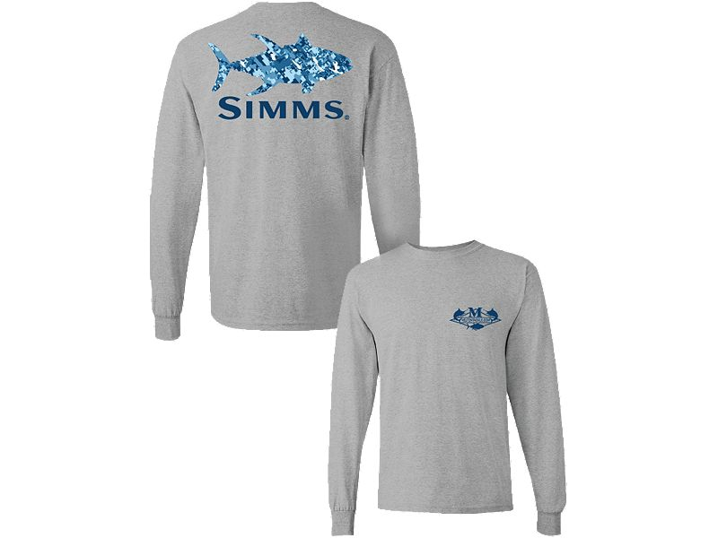 Melton Simms Yellowfin Camo Long Sleeve Shirt