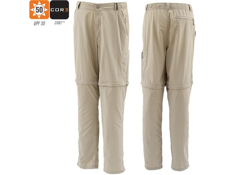 Simms Superlight Zip Off Pants