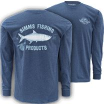 Simms Vintage Tarpon Long Sleeve Shirt