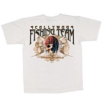 Hook & Tackle Scallywags Fishing Team T-Shirt