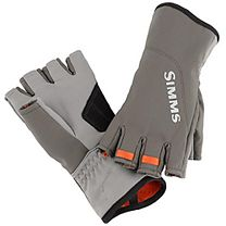 Simms ExStream Half Finger Gloves