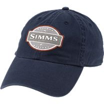 Simms 6 Panel Washed Twill Hat