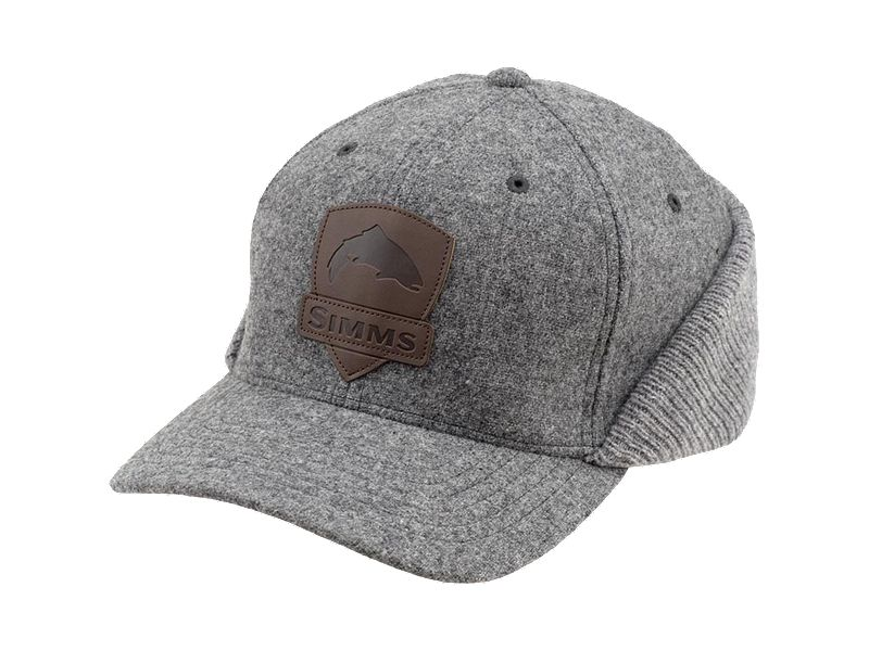Simms Wool Flexfit Flap Cap