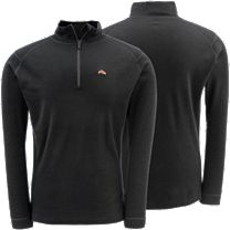 Simms DownUnder Merino Zip Top
