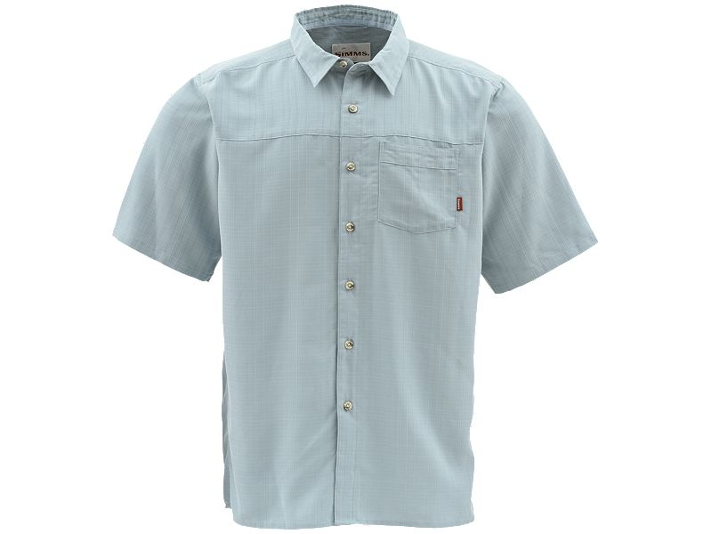 Simms Long Haul Short Sleeve Buttondown Shirt