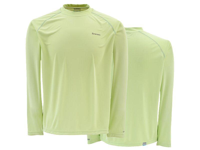 Simms Solarflex Long Sleeve Crew Neck Shirt