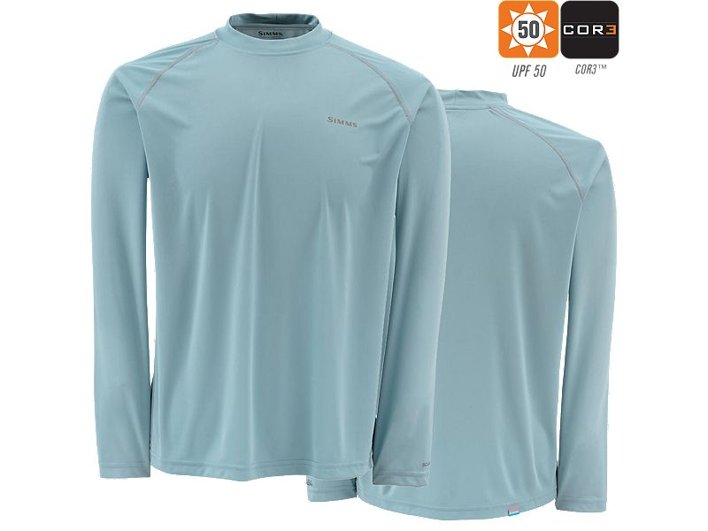 Simms Solarflex Long Sleeve Crewneck Shirt (2016)
