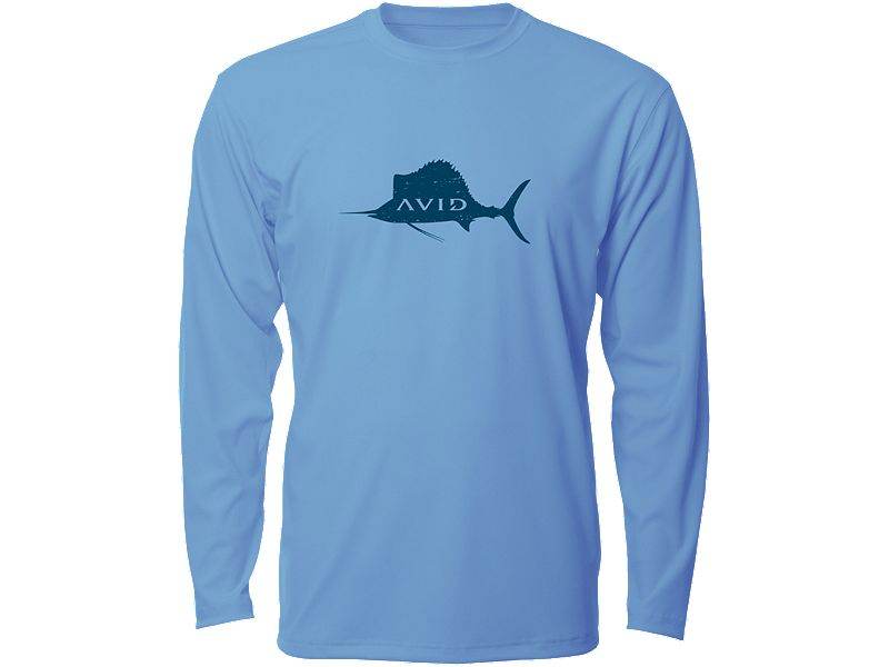 AVID Distressed Sailfish AVIDry Long Sleeve Shirt