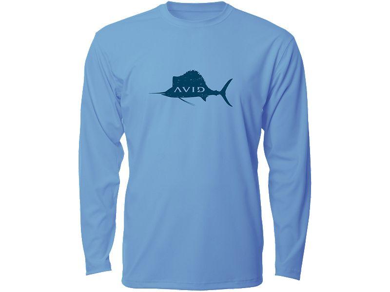 AVID Distressed Sailfish AVIDry Long Sleeve Shirt